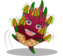 Dragon Fruit sticker #9460020