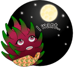 Dragon Fruit sticker #9460027