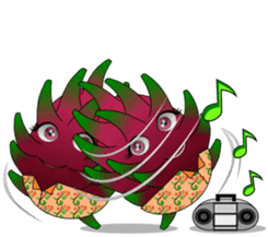 Dragon Fruit sticker #9460028