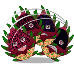 Dragon Fruit sticker #9460042