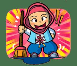 Salim & Silmy Pink Edition sticker #9460099