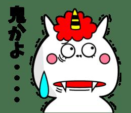 Cat Devil -ONI NEKO- sticker #9464248