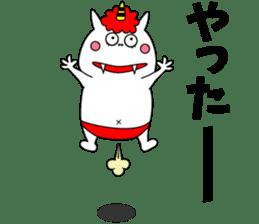 Cat Devil -ONI NEKO- sticker #9464253