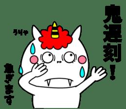Cat Devil -ONI NEKO- sticker #9464256