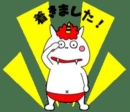 Cat Devil -ONI NEKO- sticker #9464258