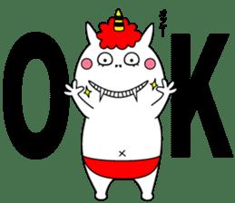 Cat Devil -ONI NEKO- sticker #9464260