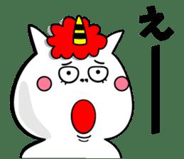 Cat Devil -ONI NEKO- sticker #9464264