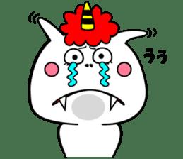 Cat Devil -ONI NEKO- sticker #9464267