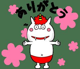 Cat Devil -ONI NEKO- sticker #9464268
