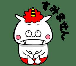 Cat Devil -ONI NEKO- sticker #9464269