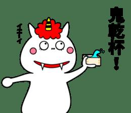 Cat Devil -ONI NEKO- sticker #9464270