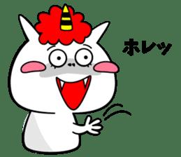Cat Devil -ONI NEKO- sticker #9464275