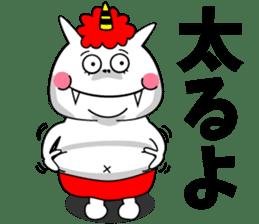 Cat Devil -ONI NEKO- sticker #9464276