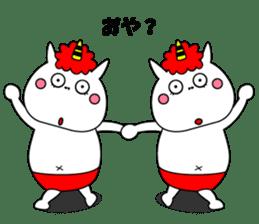 Cat Devil -ONI NEKO- sticker #9464280