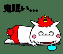 Cat Devil -ONI NEKO- sticker #9464281