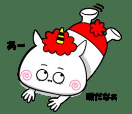 Cat Devil -ONI NEKO- sticker #9464282