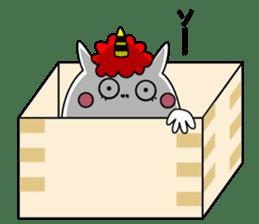 Cat Devil -ONI NEKO- sticker #9464284