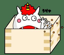 Cat Devil -ONI NEKO- sticker #9464285