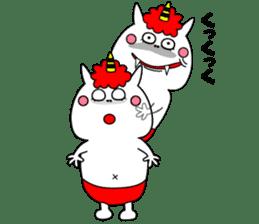 Cat Devil -ONI NEKO- sticker #9464286