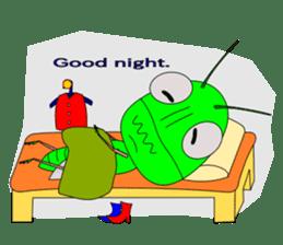 Grasshopper sticker #9465851
