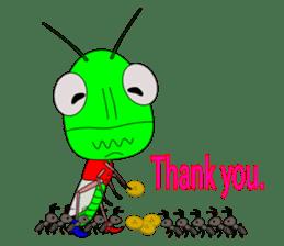 Grasshopper sticker #9465855