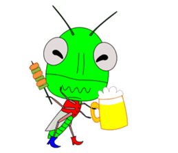 Grasshopper sticker #9465861