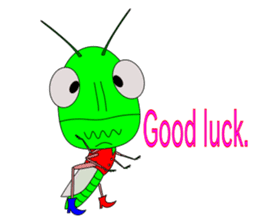 Grasshopper sticker #9465868