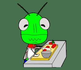 Grasshopper sticker #9465869