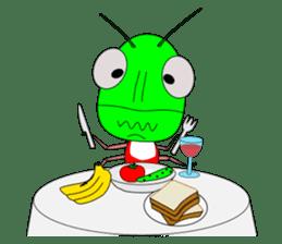 Grasshopper sticker #9465870