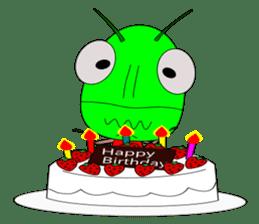 Grasshopper sticker #9465873
