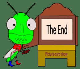 Grasshopper sticker #9465876