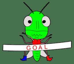 Grasshopper sticker #9465887
