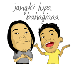 Tumming Abu Stikerna Anak Makassar sticker #9466097