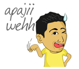 Tumming Abu Stikerna Anak Makassar sticker #9466099