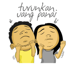 Tumming Abu Stikerna Anak Makassar sticker #9466100