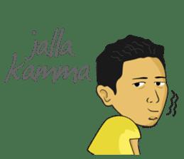 Tumming Abu Stikerna Anak Makassar sticker #9466102