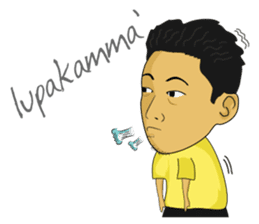 Tumming Abu Stikerna Anak Makassar sticker #9466109