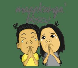 Tumming Abu Stikerna Anak Makassar sticker #9466113