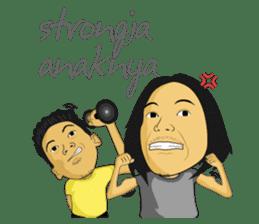 Tumming Abu Stikerna Anak Makassar sticker #9466118