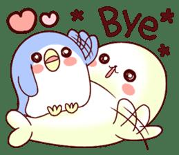 Fluffy seal! 2 sticker #9471931