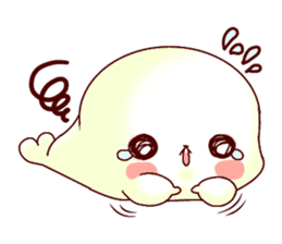 Fluffy seal! 2 sticker #9471935
