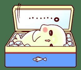Fluffy seal! 2 sticker #9471944