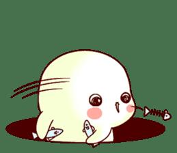 Fluffy seal! 2 sticker #9471952