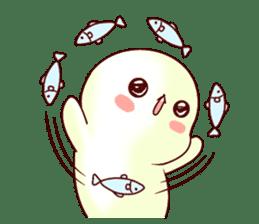 Fluffy seal! 2 sticker #9471953