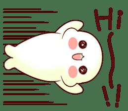 Fluffy seal! 2 sticker #9471956
