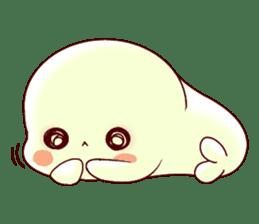 Fluffy seal! 2 sticker #9471960