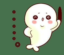 Fluffy seal! 2 sticker #9471964