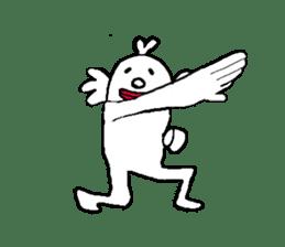 Your cormorant soft-headed everyday life sticker #9473774