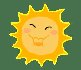 Funny Sun sticker #9474011