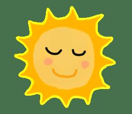 Funny Sun sticker #9474016